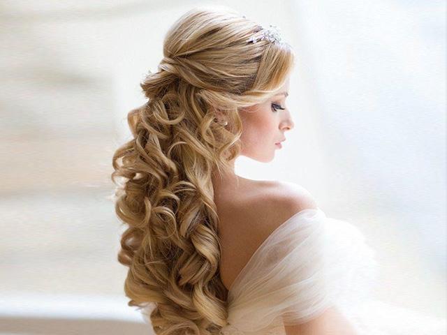 Peinado de la mama de la novia